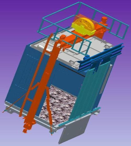 井道升降机吊笼