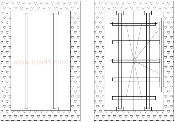 曳引式电梯安装 - 架设样板